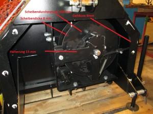 Seilwinde-Materialstärke