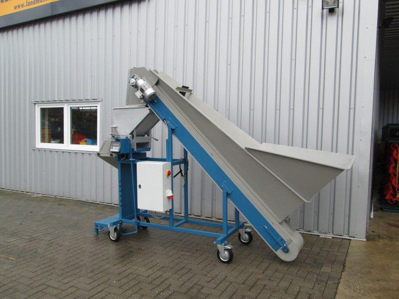 Absackwaage AW 250 Flexo…vom Getreide über Kartoffeln bis zu Holzpellets