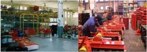Werkhalle in Caprese