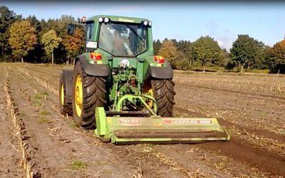 Schlegelmulcher – mechanische Maiszünzlerbekämpfung Teil 2