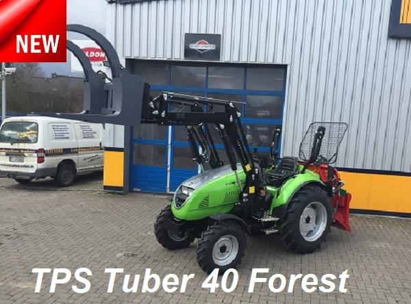 TPS Tuber Allradschlepper / Traktoren: Multifunktional und zeitgemäß! Jetzt neu TPS Tuber 40- und 50 Forest!