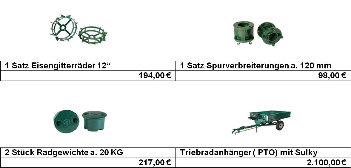 Special Green Zubehör1