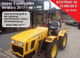 Ecotrac 30 Werbung