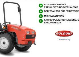 Kleintraktor Goldoni Euro 30