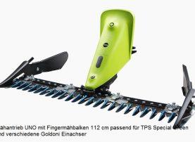 Mähantrieb UNO Fingermähbalken 127 cm TPS Special Green