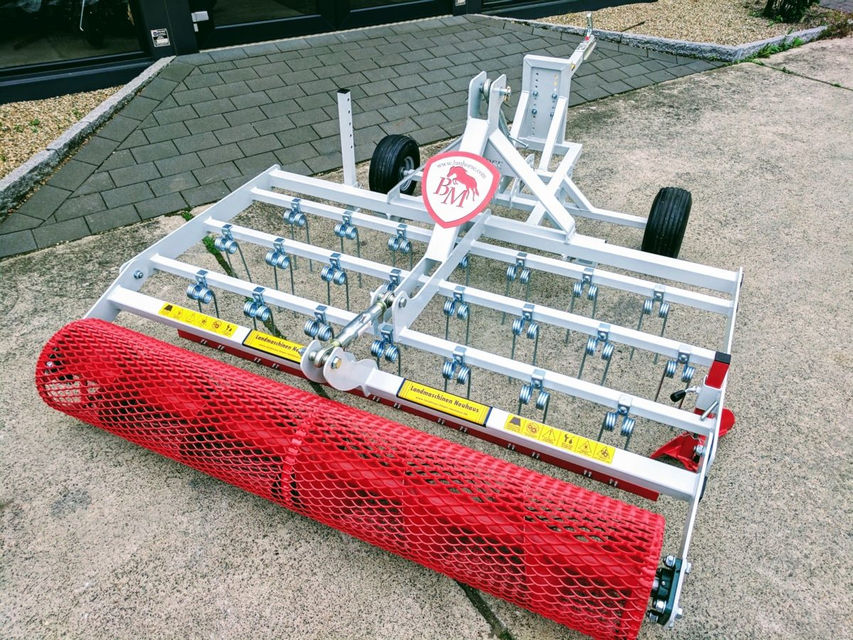 Reitplatzplaner EQUUS – Modell BGE 200 für ATV / Quadanbau