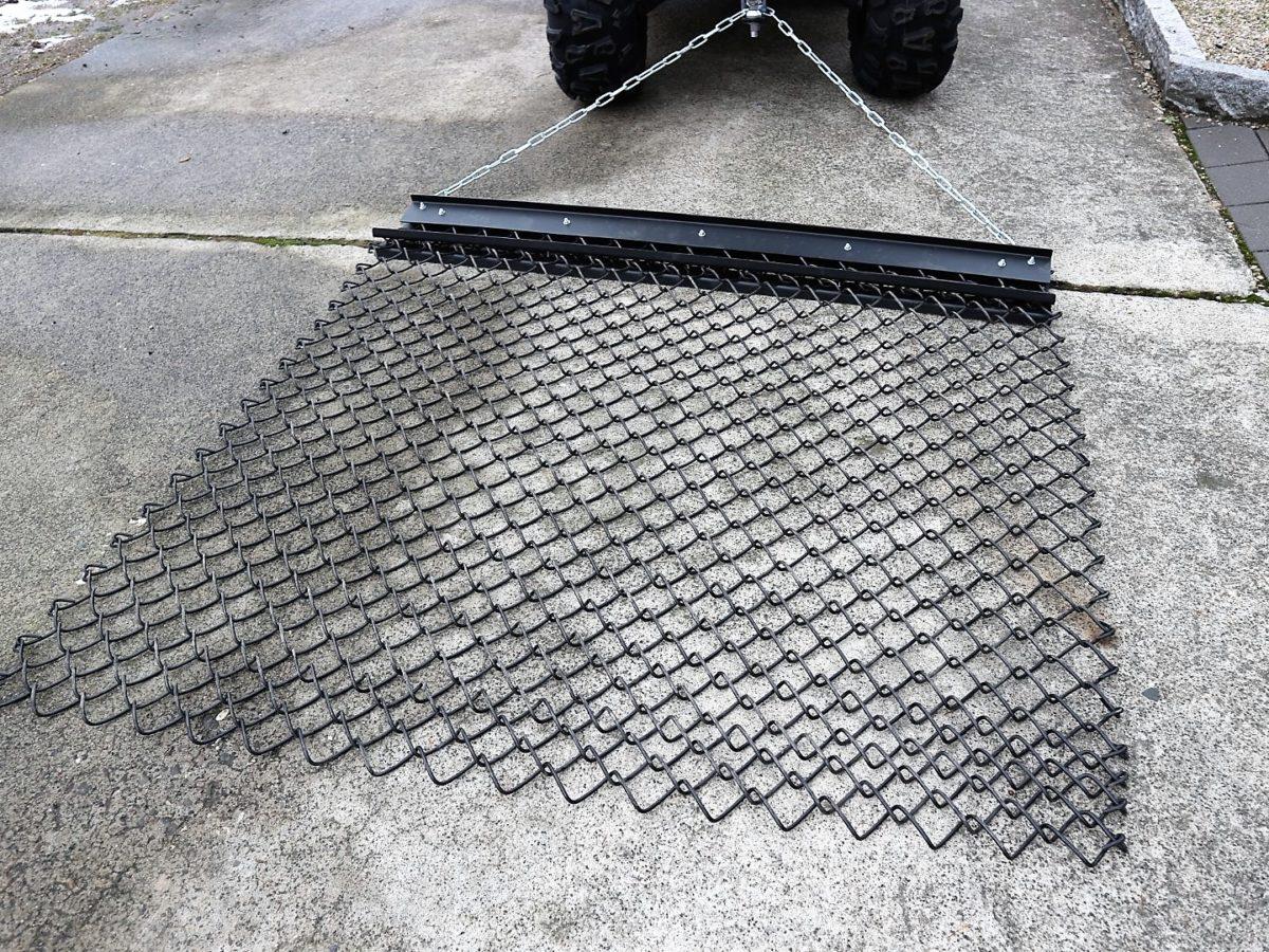 Wiesenschleppe für ATV / Quad, 1.500 mm Arbeitsbreite