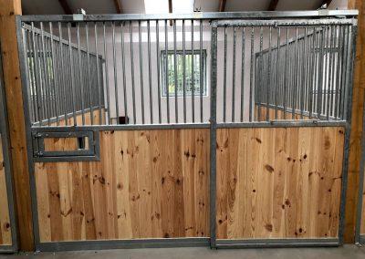 Pferdeboxenfront Standard