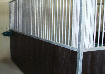 Trennwand-Standard Pferdebox 1