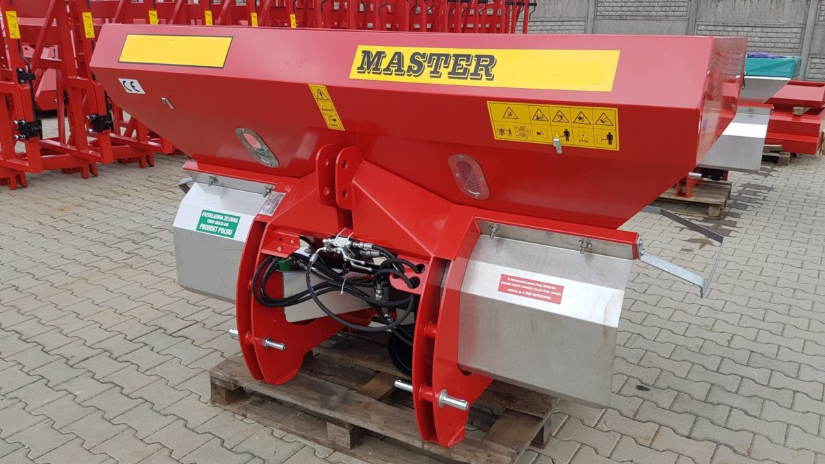 Salzstreuer, Düngerstreuer, Streuer Master 700