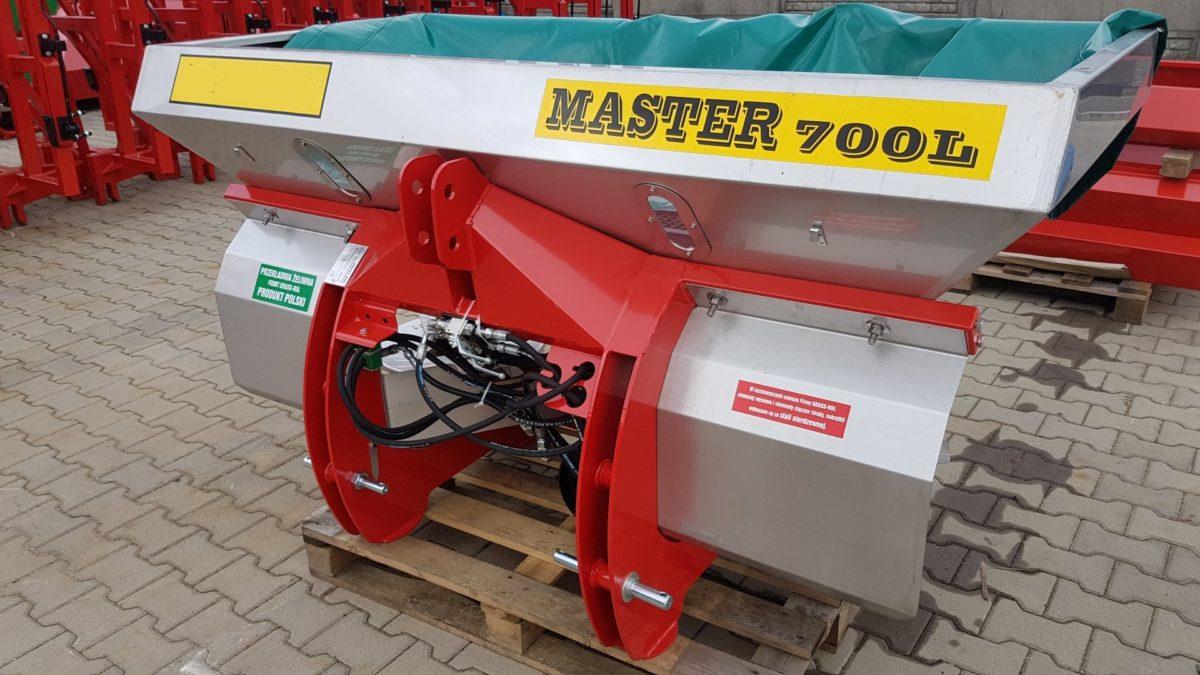 Düngerstreuer, Salzstreuer, Streuer Master 700 V2A