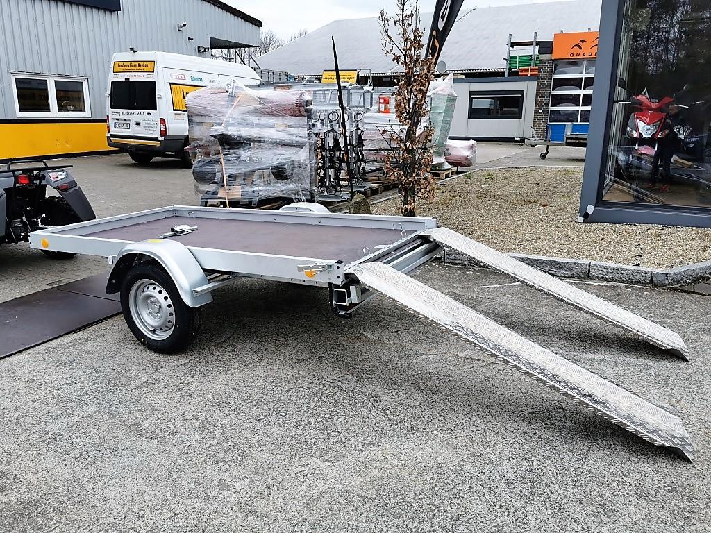 Anhänger für den Transport Ihres ATV / Quad, 2435×1235, Straßenzulassung