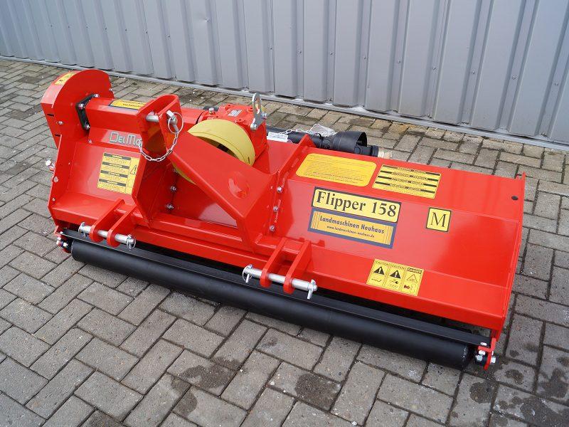 Frontanbau – Schlegelmulcher Modell Flipper 132